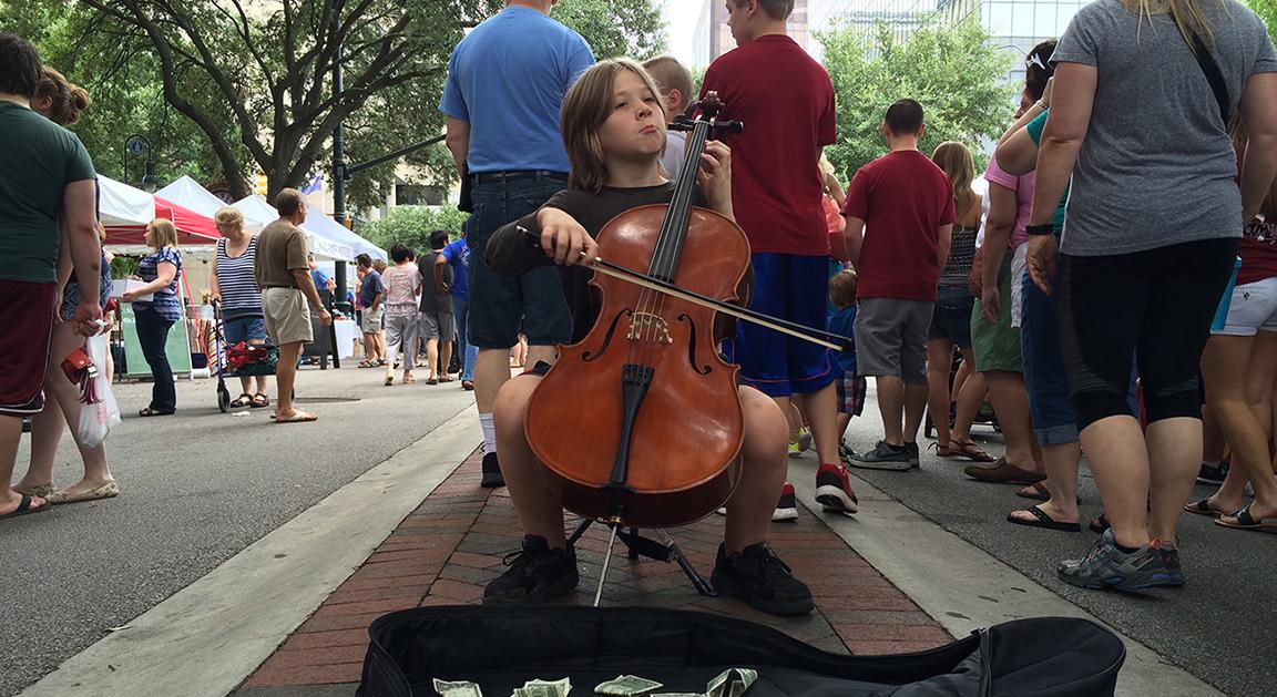 Soda City Violin Kid Slider
