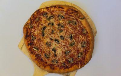 Basil Mushroom Pizza Recipe